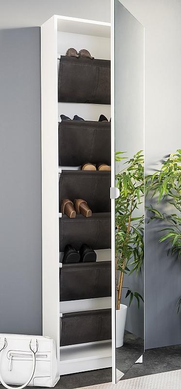Schuhschrank Zumus | weiß