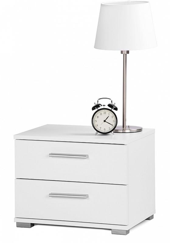 Nachttisch Nachtkonsole Elorus klein | weiß