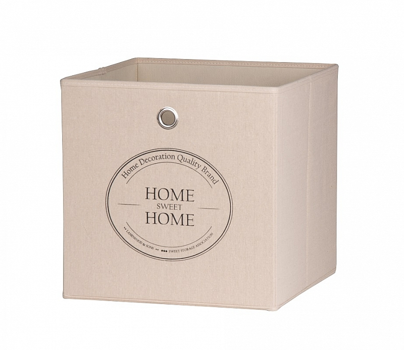 Regalbox Alfus | Home-Sweet-Home | beige | 3er Set
