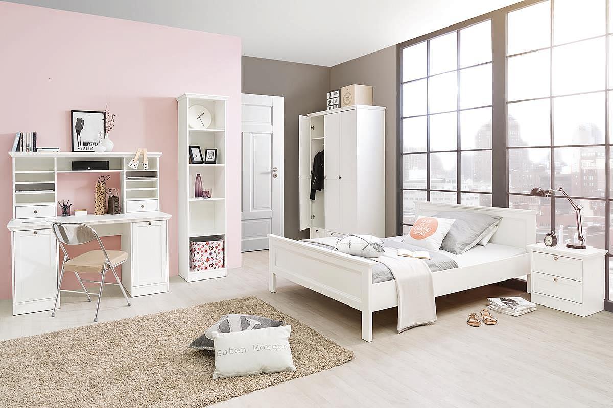 Doppelbett weiß landhaus  Doppelbett Polsterbett Landus | Landhaus | weiß