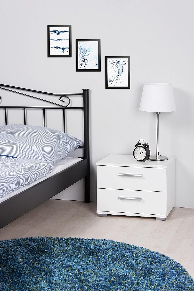 nachttisch nachtkonsole elorus klein wei. Black Bedroom Furniture Sets. Home Design Ideas