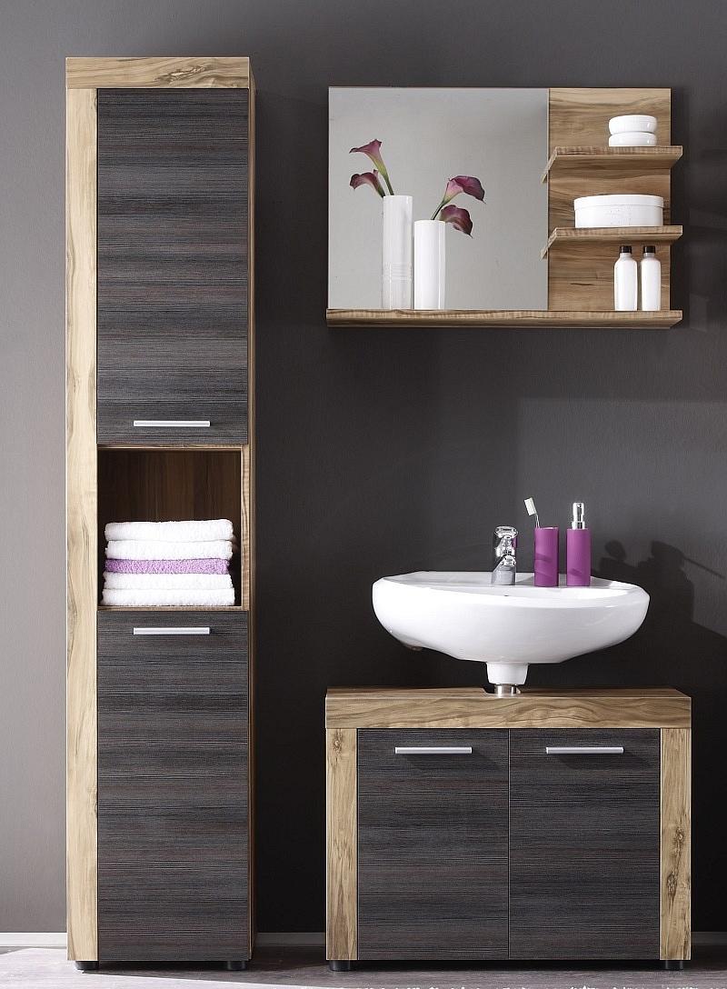 badspiegel cancun nussbaum. Black Bedroom Furniture Sets. Home Design Ideas