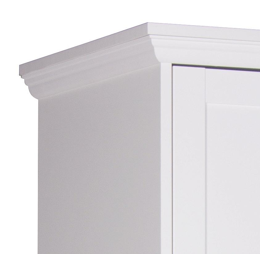 Kleiderschrank weiß landhausstil 2 türig  Highboard Landus | Landhausstil | weiß