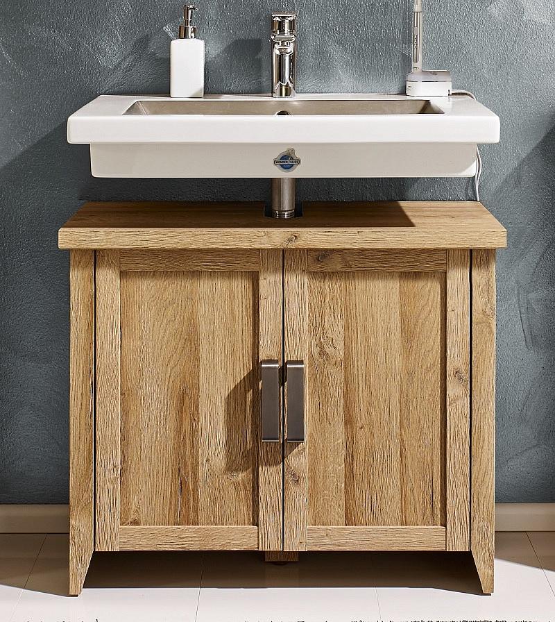 Waschbeckenunterschrank Canyon   Waschtisch   Alteiche Holz Design