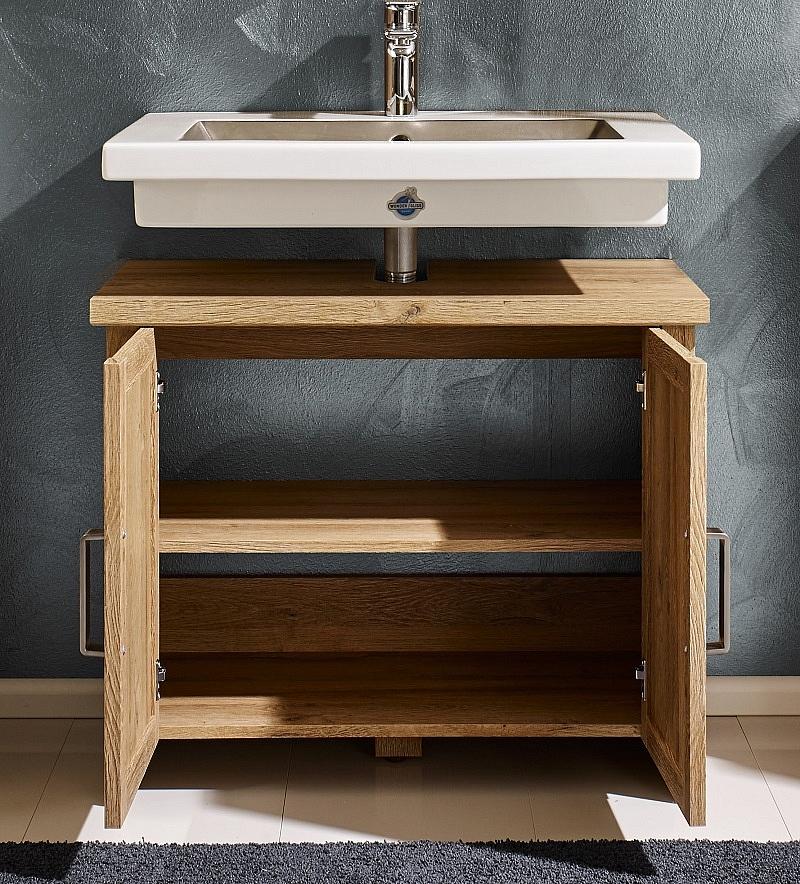 badezimmer set canyon alteiche 2 teilig. Black Bedroom Furniture Sets. Home Design Ideas