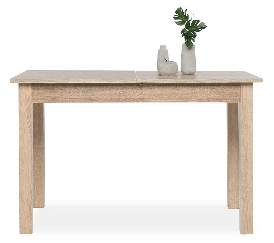 esstisch cobus ausziehbar ausziehtisch sonoma eiche 120x70. Black Bedroom Furniture Sets. Home Design Ideas