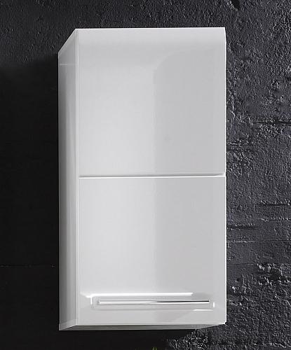 Badezimmer-Set Bora   weiß Hochglanz   5-teilig