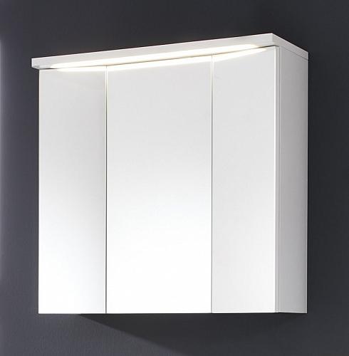 Spiegelschrank Adamo | weiß | inkl. Beleuchtung | 75 cm