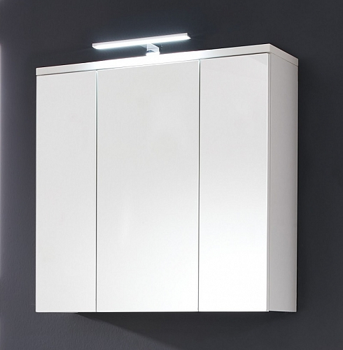 Spiegelschrank Adamo | weiß | 75 cm