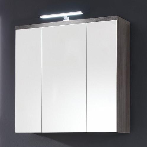 Spiegelschrank Adamo | rauchsilber | 75 cm