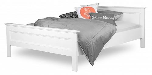 Doppelbett Landus | Landhaus | weiß | 140x200