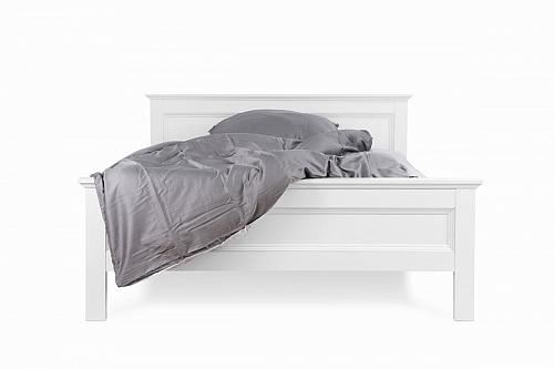 Doppelbett Polsterbett Landus | Landhaus | weiß | 140x200