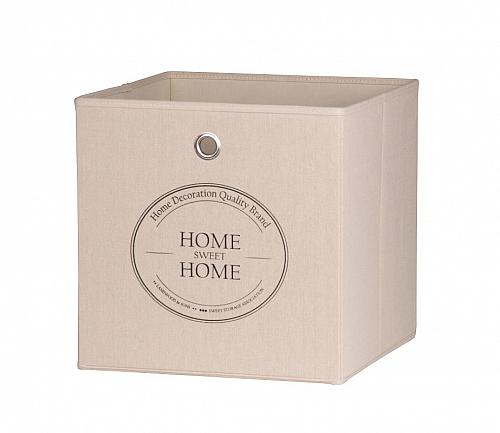 Regalbox Alfus | Home-Sweet-Home | beige | 3er Set