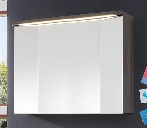 Spiegelschrank Adamo | rauchsilber | inkl. Beleuchtung | 96 cm