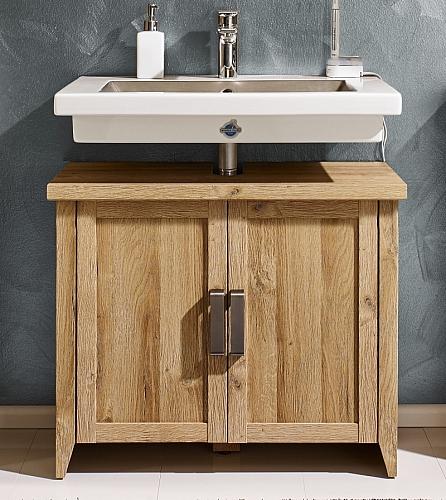 Waschbeckenunterschrank Canyon | Waschtisch | Alteiche Holz Design