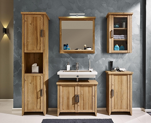 Kommode Canyon Bad | Alteiche Holz Design