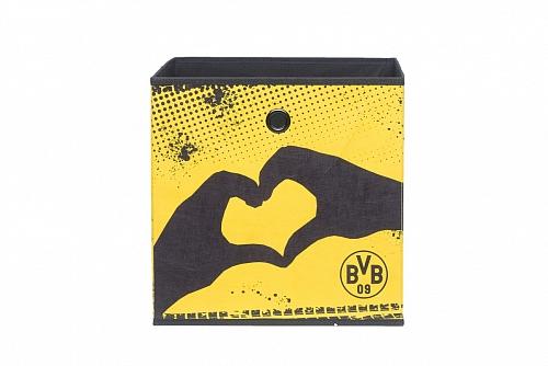 Regalbox Alfus   BVB   Borussia Dortmund   Herz & Logo   3er Set