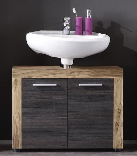 Waschbeckenunterschrank Cancun | Waschtisch | Nussbaum / Touchwood dunkelbraun