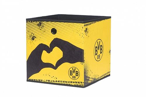 Regalbox Alfus | BVB | Borussia Dortmund | Herz & Logo | 3er Set