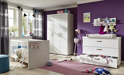 Babyzimmer-Set Luca | weiß | 3-teilig